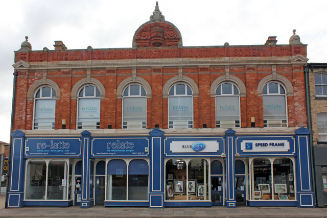 Old Co-operative building High Street