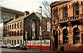 J3474 : Site, Victoria Street, Belfast (3) by Albert Bridge