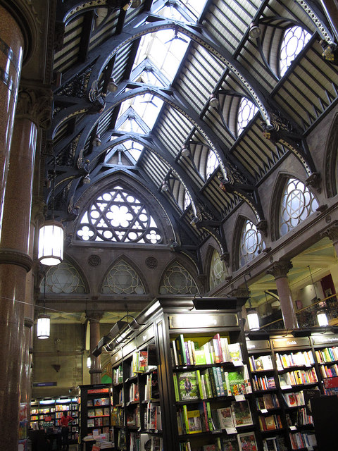 Waterstones, Bradford: interior
