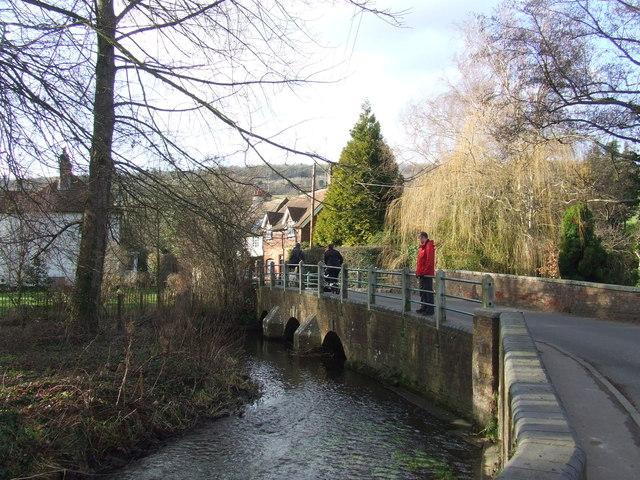 River Darent at Shoreham