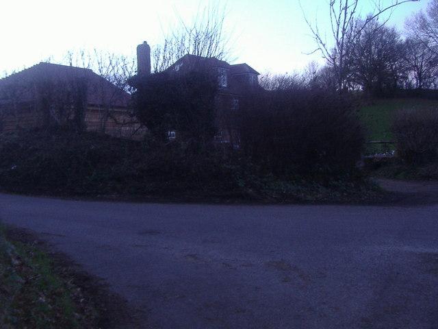 House on the corner of Rad Lane, Abinger Hammer