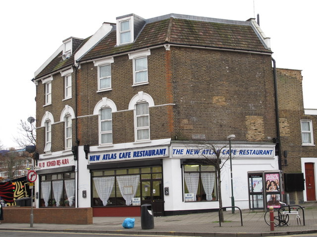 The New Atlas Cafe Restaurant, Craven Park Road (A404), NW10