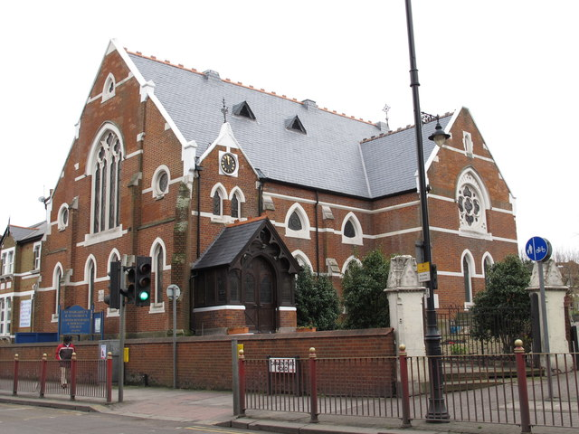 St. Margaret's & St. George's United Reformed & Moravian Church, Craven Park Road (A404), NW10