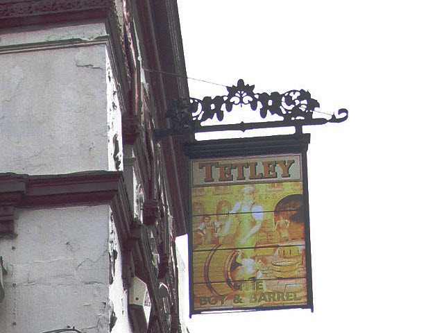 Sign of the Boy and Barrel