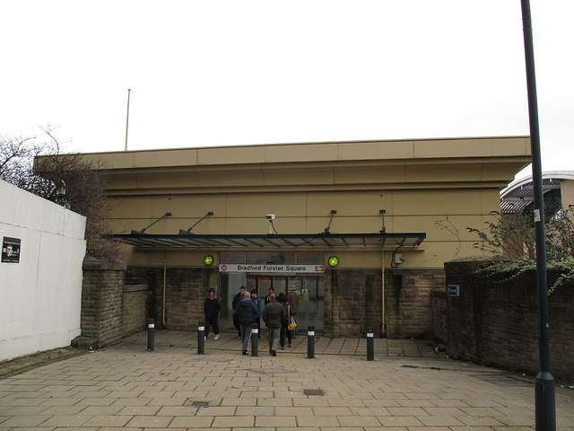 Entrance to Forster Square station