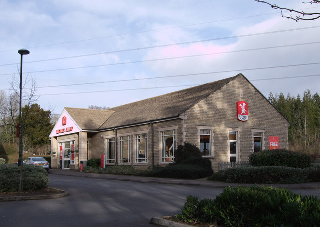 Little Chef restaurant at Burford Road service area