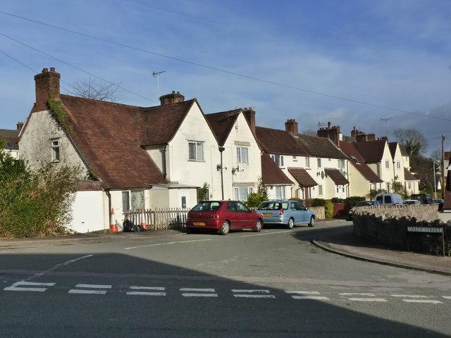 Junction of Green Street and Hardwick Avenue, Chepstow Garden City