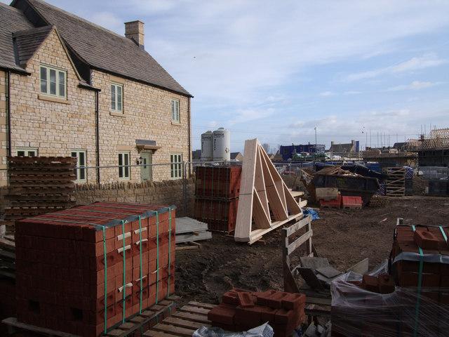 Corinium Via estate under construction