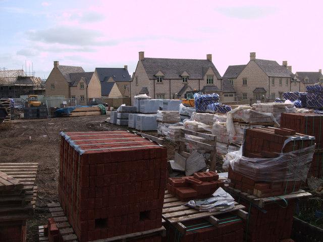 Corinium Via housing estate under construction