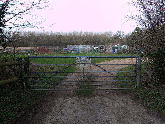 Abbey Estate allotments, Burford Road, Cirencester