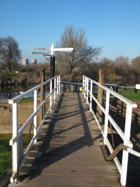 Junction of the River Severn and Canal