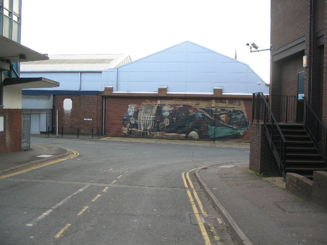 Cook Street, junction with Silver Street