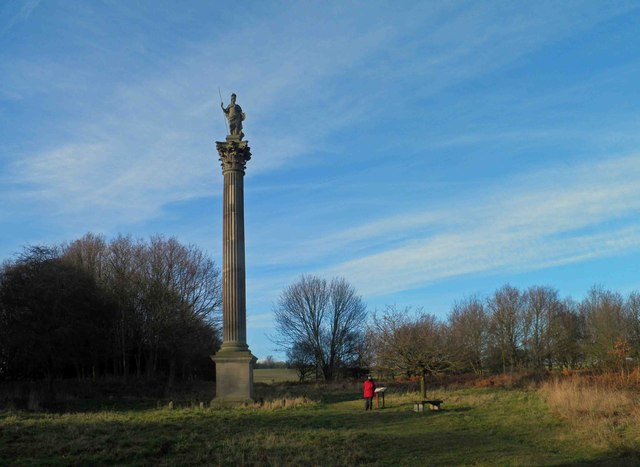 The Duke of Argyle's column Wentworth Castle