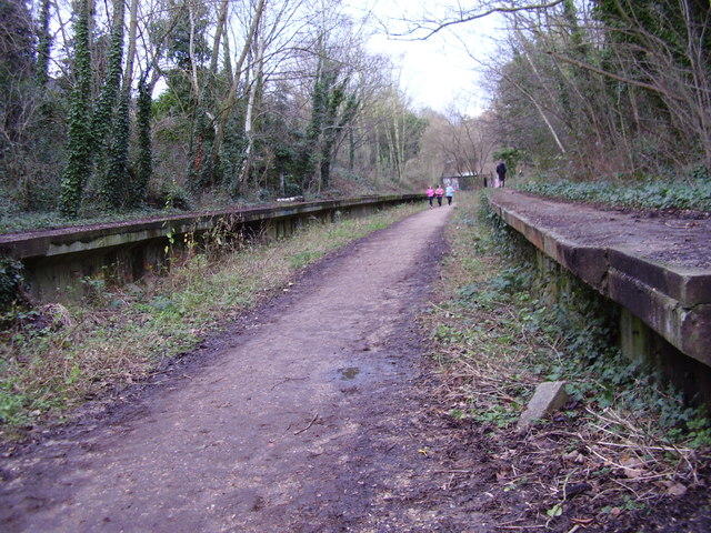 Crouch End: Remains of former GN station