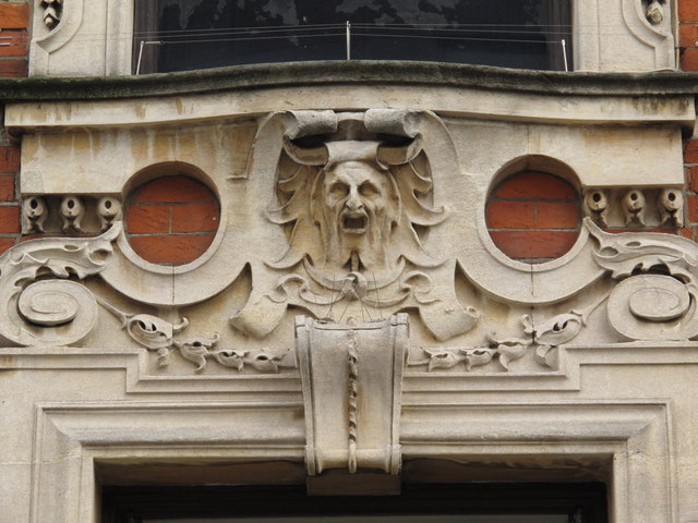 Former National Bank, Craven Park Road / St. Mary's Road, W10 - detail