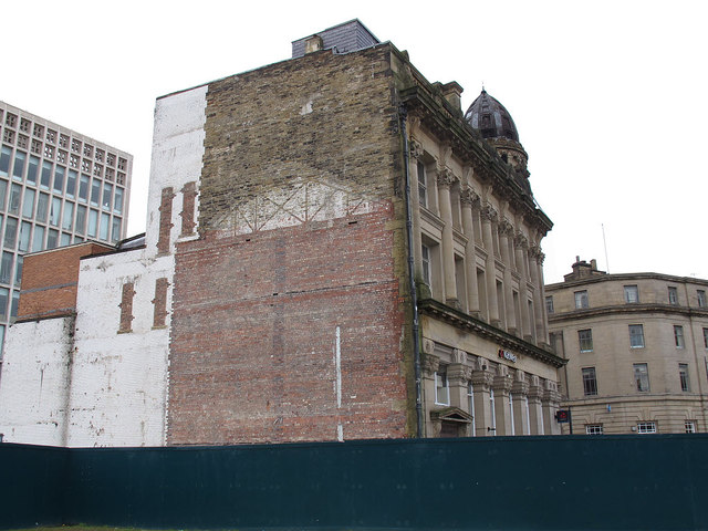 Rear of the NatWest Bank