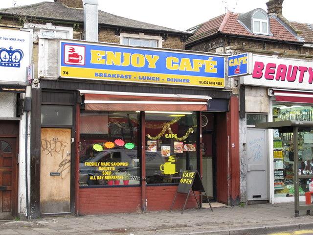 Enjoy Café, Craven Park Road, NW10