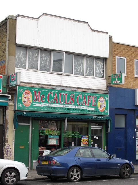 McCauls Cafe, Craven Park Road, NW10