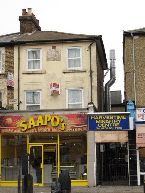 SAAPO'S Jerk Centre Ltd; and Harvestime Ministry Centre, Craven Park Road, NW10
