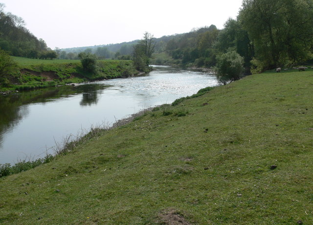 The River Severn south of Hampton Loade