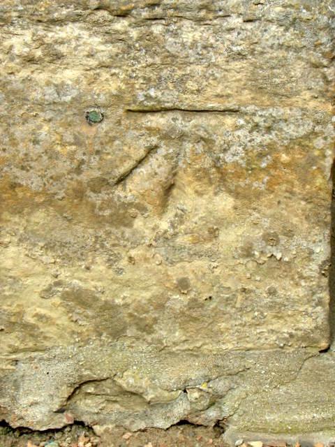 Bench Mark, Kingsbarns Parish Church