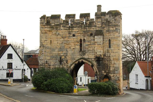 Pottergate Arch