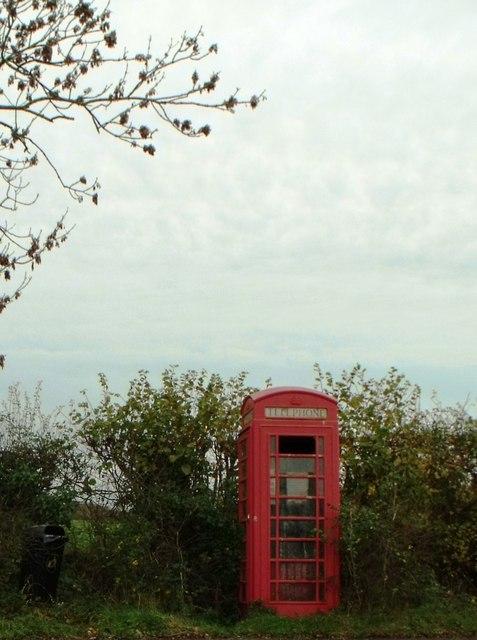 Telephone kiosk, Winsor, Hampshire