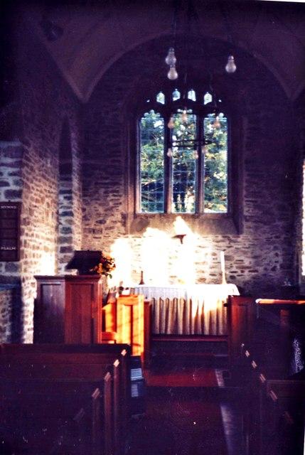 Chancel, Ashill Church