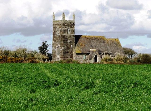 St Grada's, Grade, Cornwall