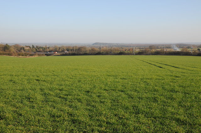 Farmland near Dunhampstead