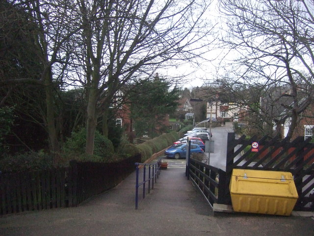 Path from Weeton Station