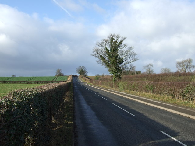Minor road towards Markington