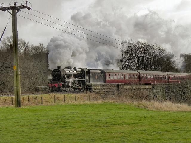 East Lancashire Railway, Burrs Bridge