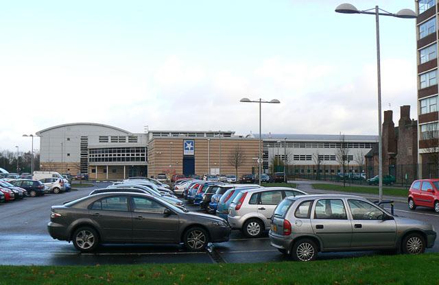 Chorlton High School from Nell Lane