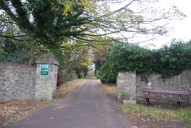 Entrance to Hayle Place