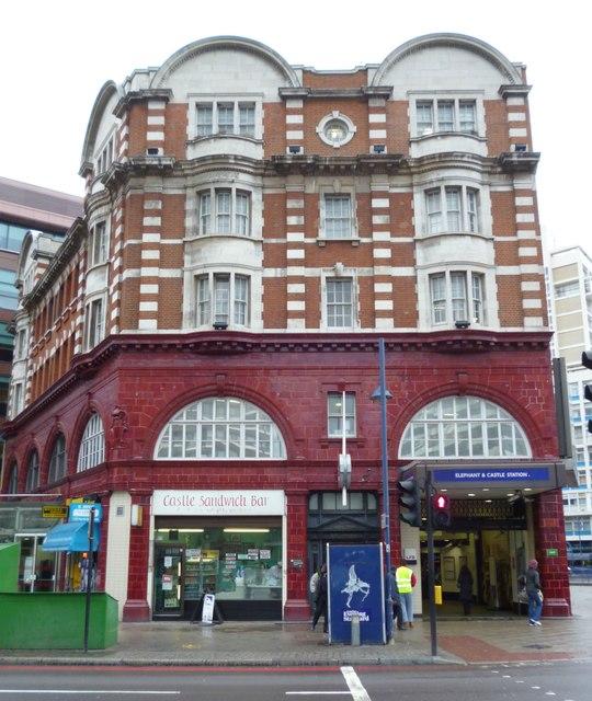 Elephant and Castle Underground Station, London Road SE1