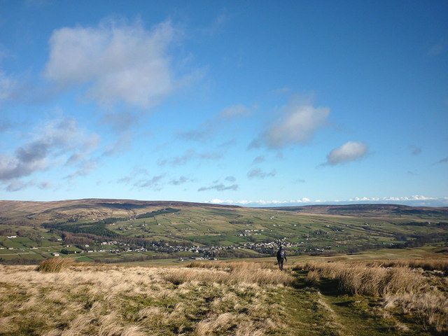 Heading to Middleton-in-Teesdale on the Pennine Way