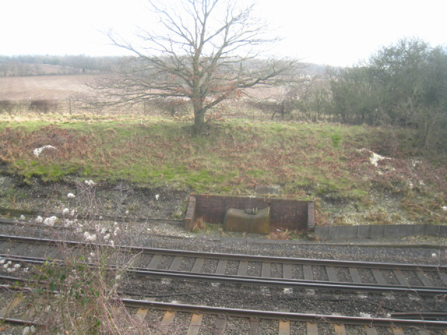 Object by the track