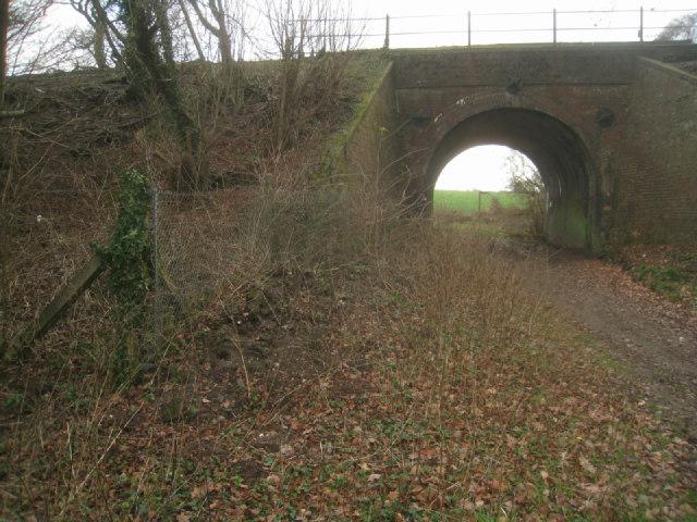 Old style rail bridge