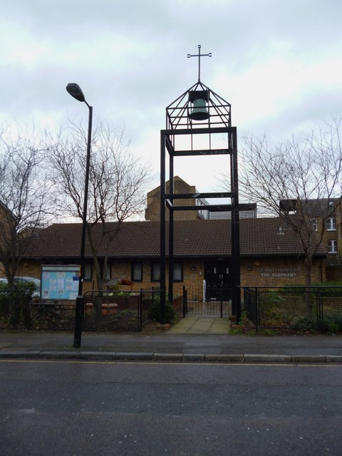 St Matthew at the Elephant, Meadow Row SE1