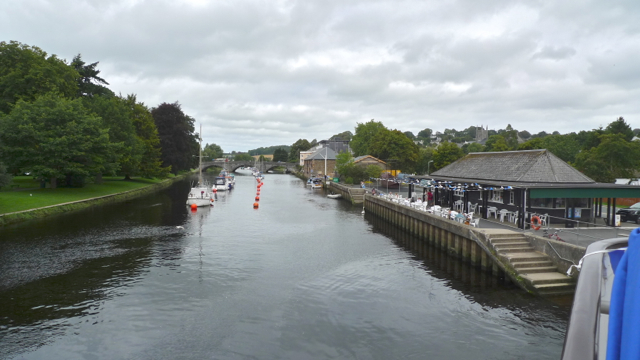 River Dart by Town Quay Totnes