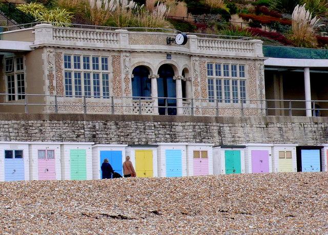 Beach Shelter Lyme Regis