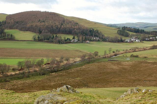 Old railway line from Dreva Craig