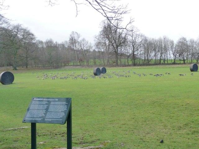 Invasion at Yorkshire Sculpture Park