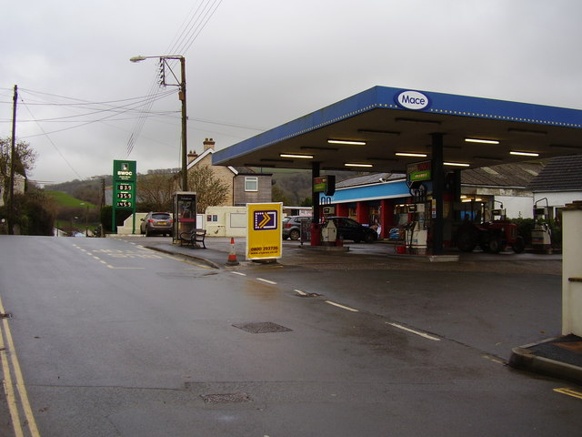 The First and the Last petrol station