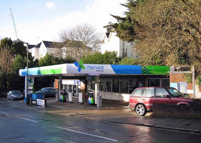 Filling station, Upton Road