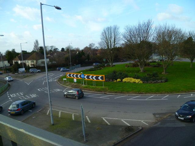 Stockbridge roundabout (2)