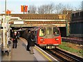 TQ2189 : Colindale tube station platforms (2) by Mike Quinn