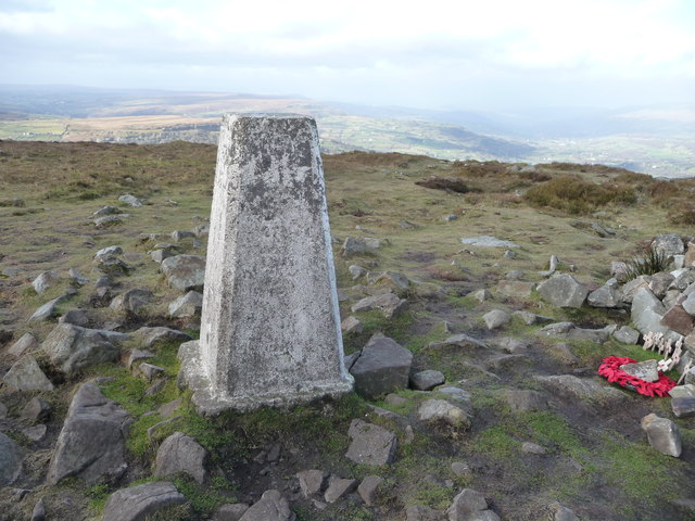 Trig point on the Blorenge