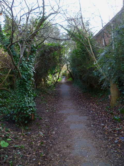 Footpath from Stockbridge Road to the Chichester Canal